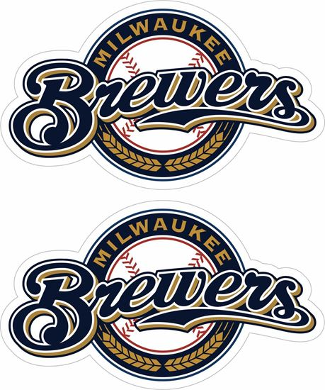 Picture of Milwaukee Brewers Stickers / Decals