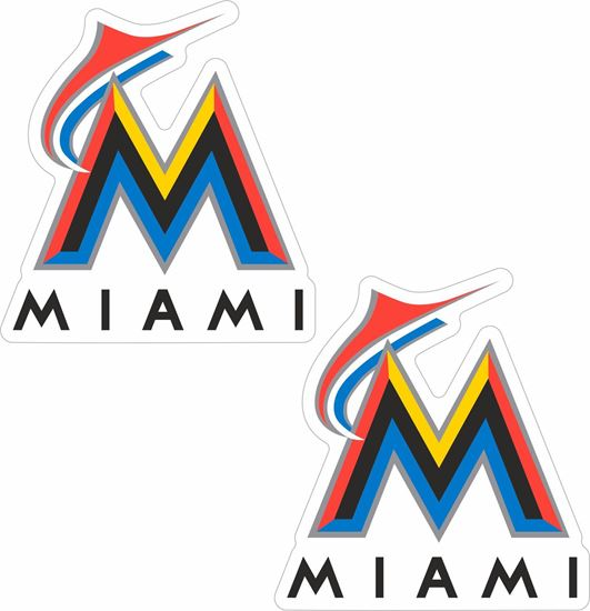 Picture of Miami Marlins Stickers / Decals