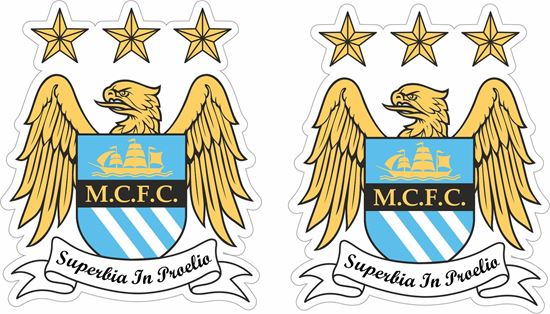 Picture of Manchester City FC Stickers / Decals