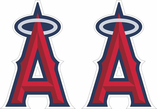 Picture of Los Angeles Angels Decals / Stickers