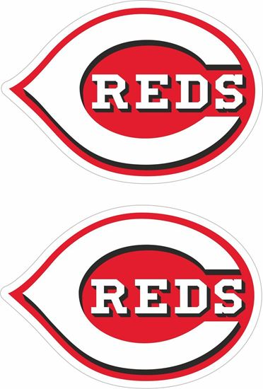 Picture of Cincinnati Reds Decals / Sticker