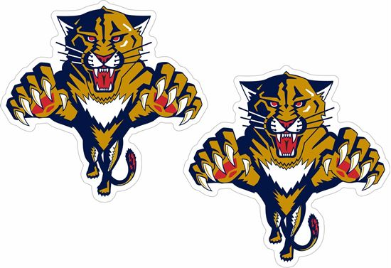 Picture of Florida Panthers Decals / Stickers
