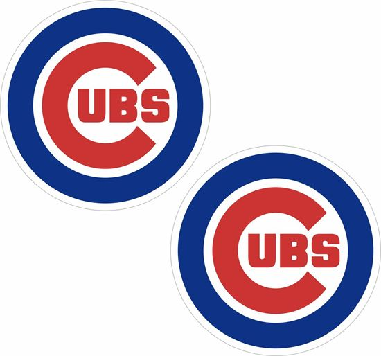 Picture of Chicago Cubs Decals / Sticker