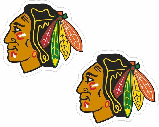 Picture of Chicago Blackhawks Decals / Sticker
