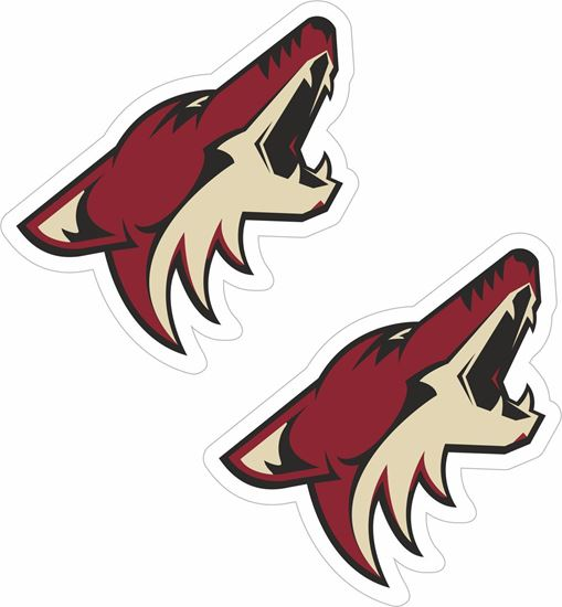 Picture of Arizona Coyotes Decals / Stickers