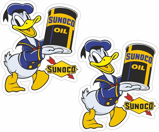Picture of Sunoco Oil Decals / Stickers