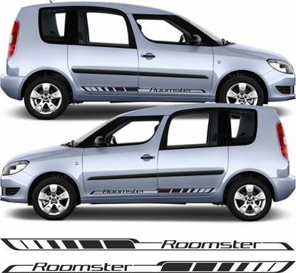Picture of Skoda Roomster side Stripes / Stickers