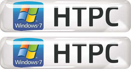 Picture of Windows 7 HTPC Gel Badges