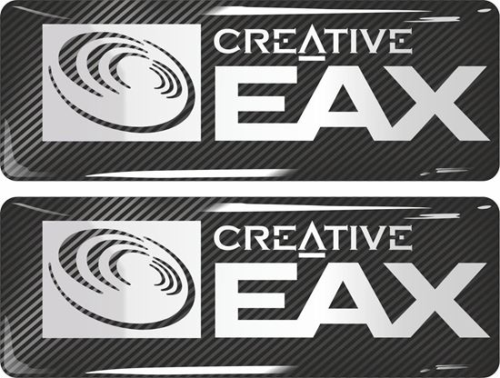 Picture of Creative EAX Gel Badges