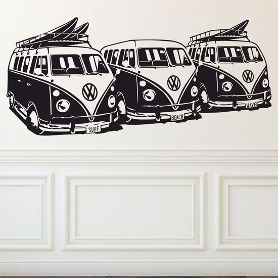 Picture of VW Camper T1 Wall Art sticker