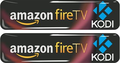 Picture of Amazon Fire TV Kodi Gel Badges