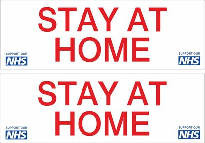 Picture of Stay at home NHS Decals / Stickers