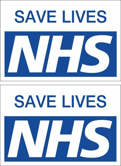 Picture of NHS Decals / Stickers