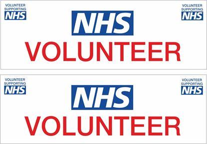 Picture of NHS Volunteer Decals / Stickers