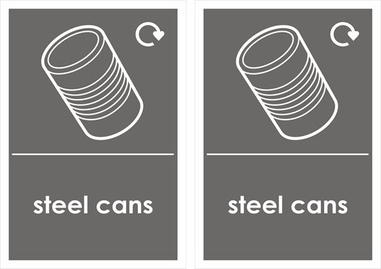 Picture of Steel Cans Decals / Stickers