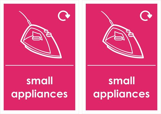 Picture of Small Appliances Decals / Stickers