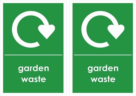 Picture of Garden Waste Decals / Stickers
