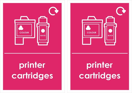 Picture of Printer Cartridges Decals / Stickers