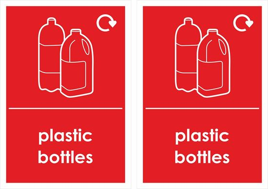 Picture of Plastic Bottles Decals / Stickers