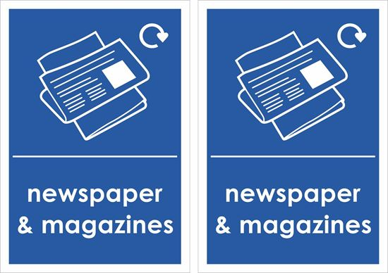 Picture of Newspaper & Magazines Decals / Stickers