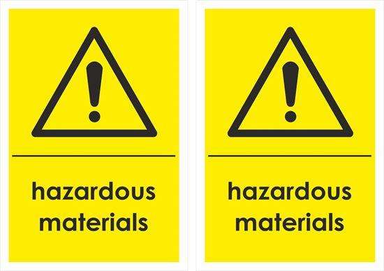 Picture of Hazardous Materials Decals / Stickers
