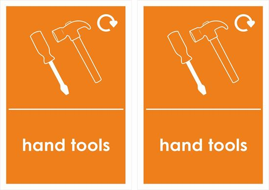 Picture of Hand Tools Decals / Stickers