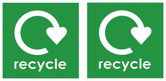 Picture of recycle Decals / Stickers