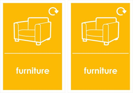 Picture of furniture Decals / Stickers