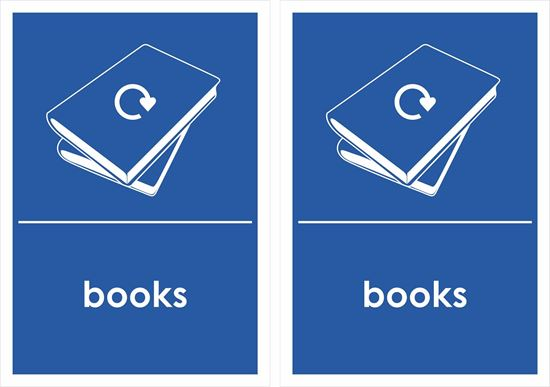 Picture of Books Decals / Stickers