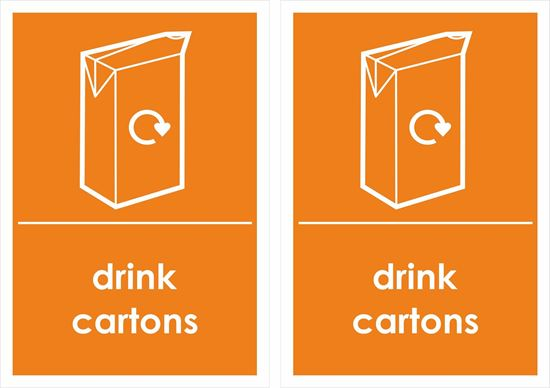 Picture of Drink Cartons Decals / Stickers