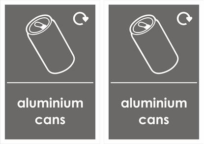 Picture of Aluminium Cans Decals / Stickers