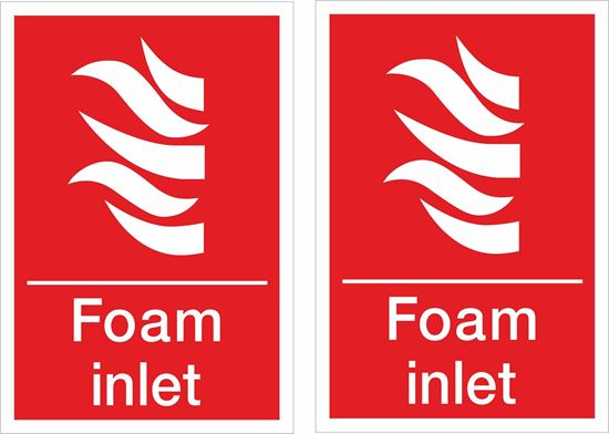 Picture of Foam inlet Decals / Stickers
