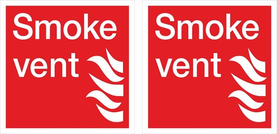 Picture of Smoke vent Decals / Stickers