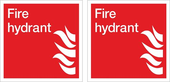 Picture of Fire hydrant Decals / Stickers