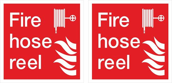 Picture of Fire hose reel Decals / Stickers