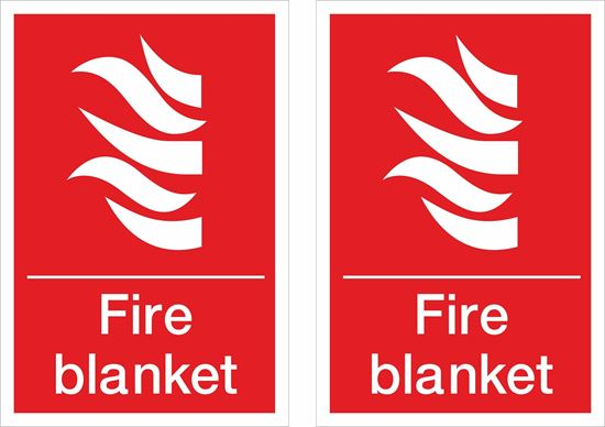 Picture of Fire blanket Decals / Stickers
