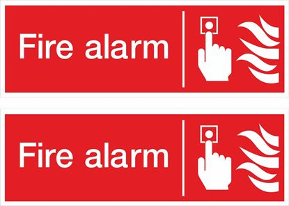 Picture of Fire alarm Decals / Stickers