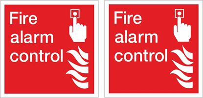 Picture of Fire alarm control Decals / Stickers