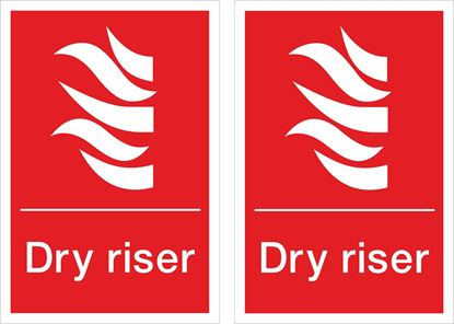 Picture of Dry riser Decals / Stickers
