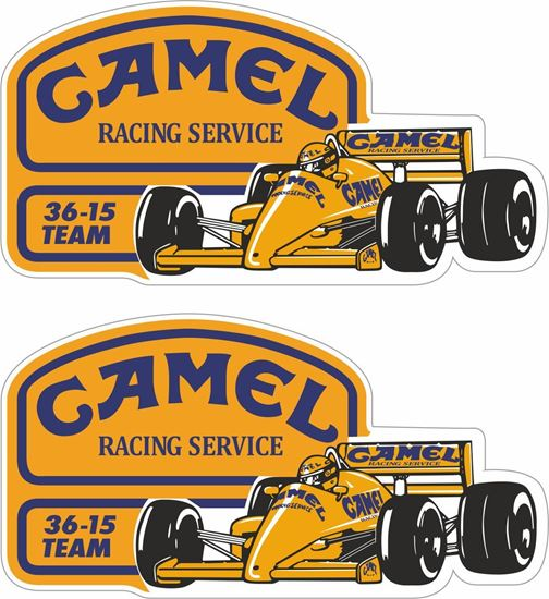 Picture of Lotus Team Camel  Decals / Stickers