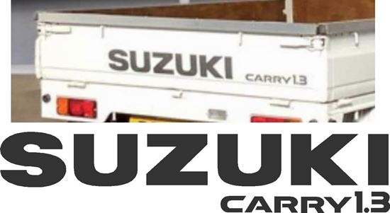 Picture of Suzuki Carry 1.3 Pickup Replacement Decals / Stickers