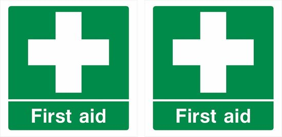 Picture of First aid Decals / Stickers