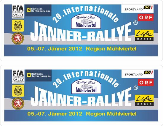 Picture of Janner Rallye Decals / Stickers