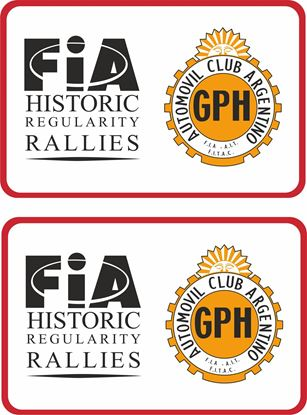 Picture of FiA Historic Regularity Rallies Decals / Stickers