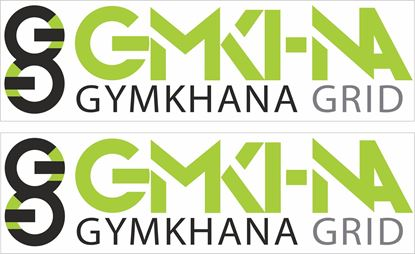 Picture of Gymkhana Grid Decals / Stickers
