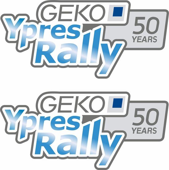 Picture of Geko Ypres Rally Decals / Stickers