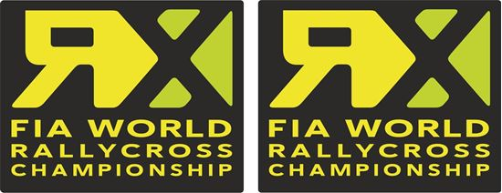Picture of RX FIA World Rallycross Championship Decals / Stickers