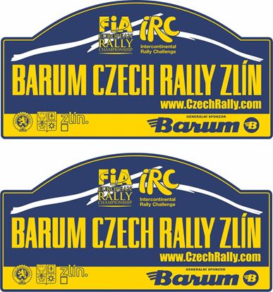 Picture of Barum Czech Rally Zlin Decals / Stickers