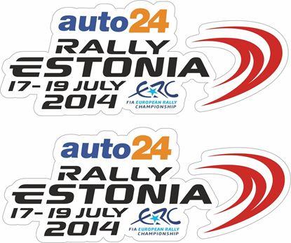Picture of Auto 24 Estonia Decals / Stickers