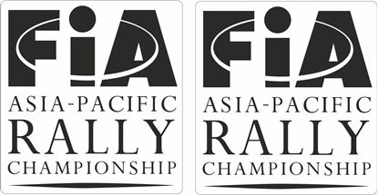 Picture of FiA Asia Pacific Rally Decals / Stickers